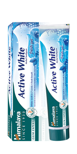 Himalaya Herbals Active White Gel Tandpasta