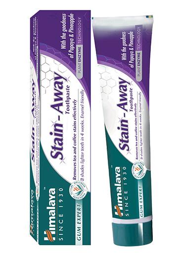 Himalaya Stain Away kruidentandpasta voor wittere tanden, zonder fluoride